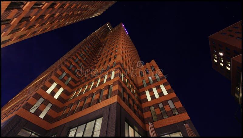 Symfonia budynek, Zuidas, Amsterdam holandie obraz royalty free