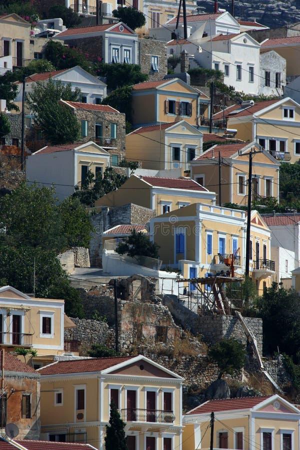symi Греции стоковые фото