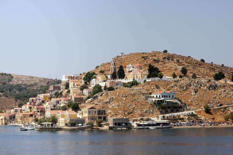 symi Греции стоковое фото rf