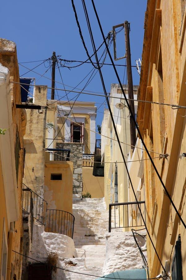 symi Греции стоковые изображения