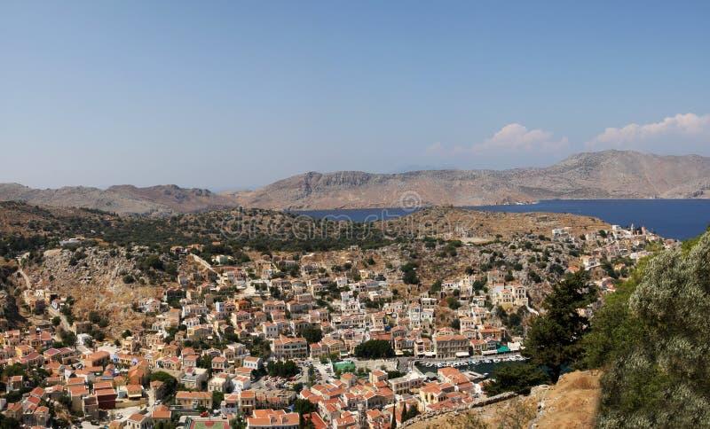Symi, Греция стоковая фотография