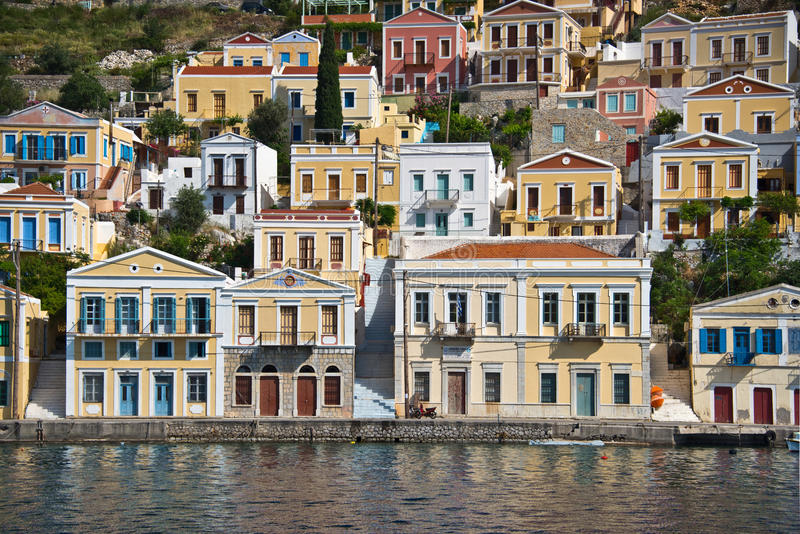 Symi, Dodecanese islands, Greece. Symi in Dodecanese islands, Greece royalty free stock photo