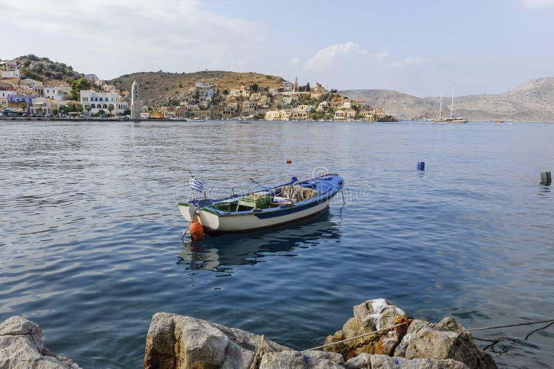 Symi Griechenland lizenzfreie stockbilder