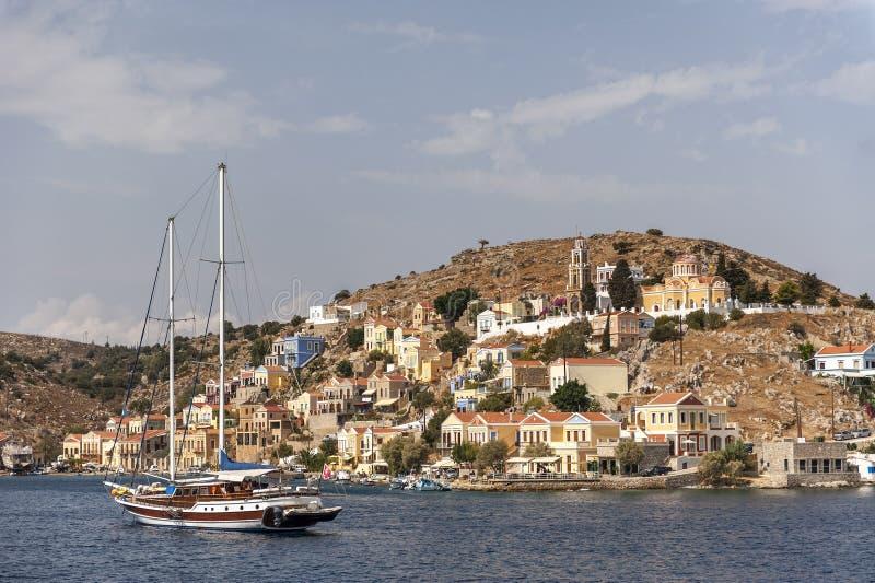 Symi Griechenland lizenzfreies stockbild