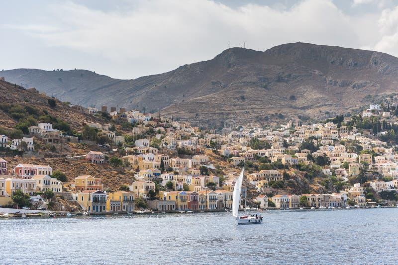 Symi Griechenland lizenzfreies stockfoto
