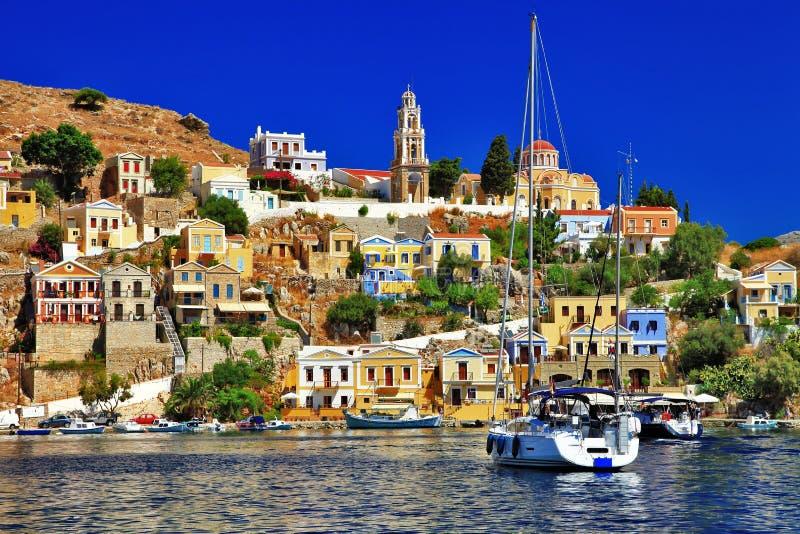 Symi-Insel, Dodecanese lizenzfreie stockbilder