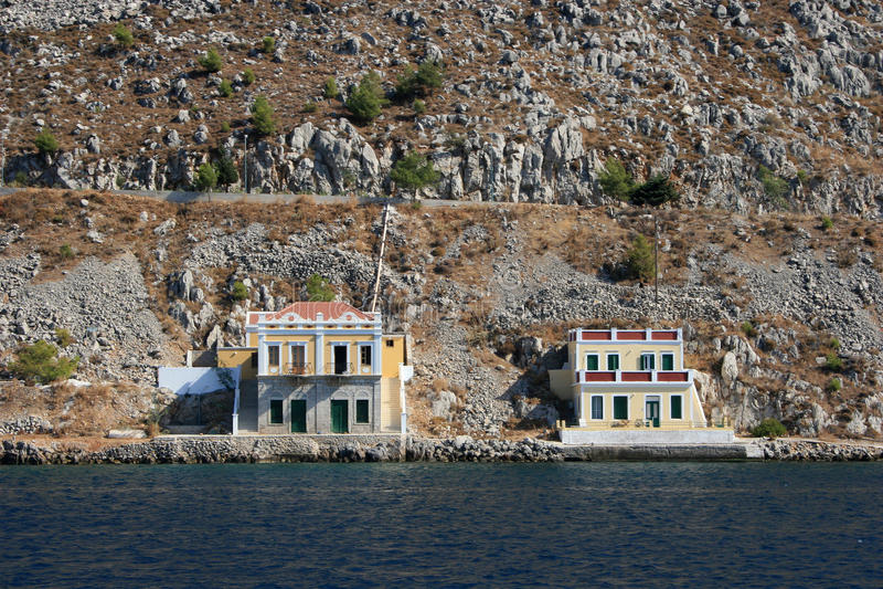 Symi Insel, Griechenland lizenzfreie stockbilder