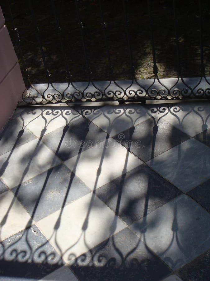 Symmetric cień zdjęcia royalty free