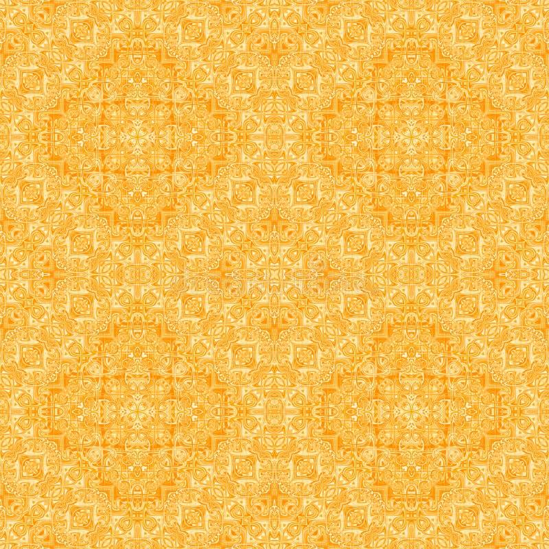 Symmetric design - seamless pattern. royalty free illustration