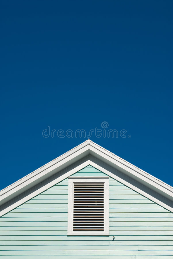 Free Symmetric Roof Gable Royalty Free Stock Images - 8331269