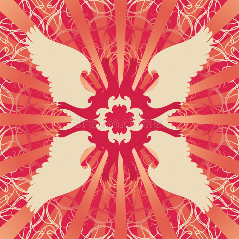 Symmetrical Background Stock Image
