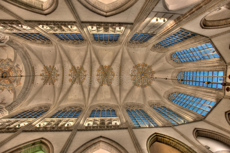 Download Symmetrical Ceiling Stock Image - Image: 22613161