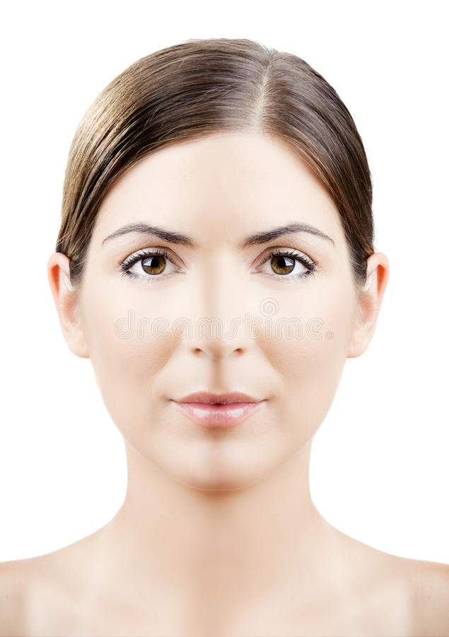 Think, you facial symmetry and skin color for explanation