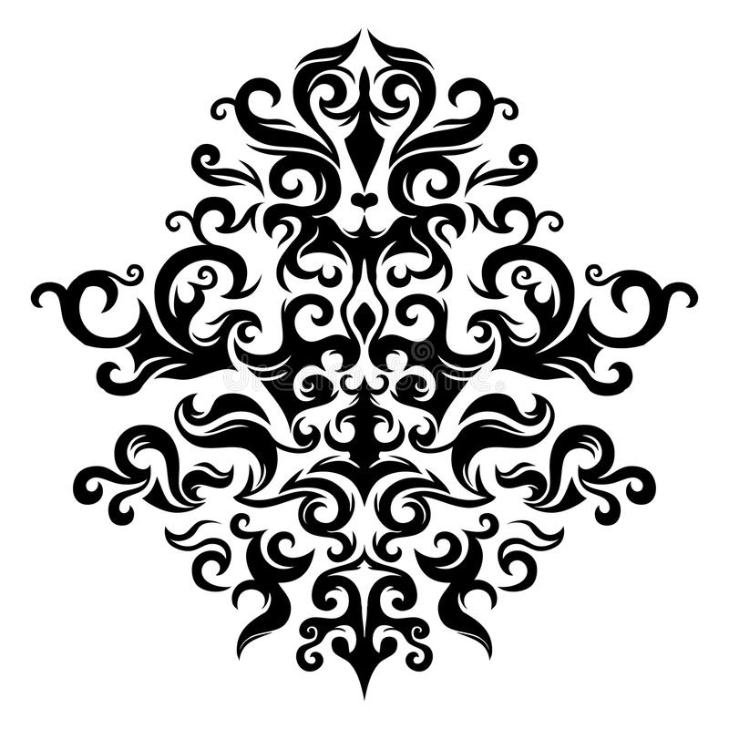 Download Symmetrical Floral Ornament Stock Vector - Image: 12114750