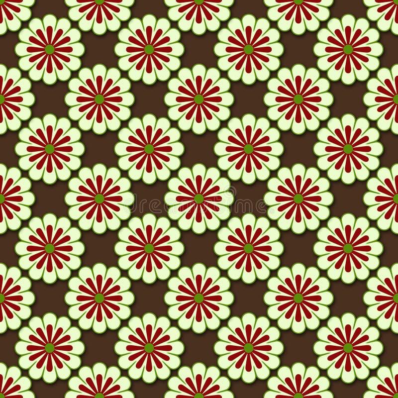 Download Symmetrical flower pattern stock illustration. Illustration of symmetrical - 12168397