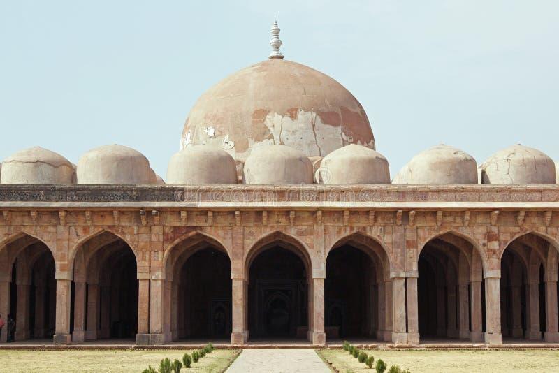 Symmetrical Mosque stock images