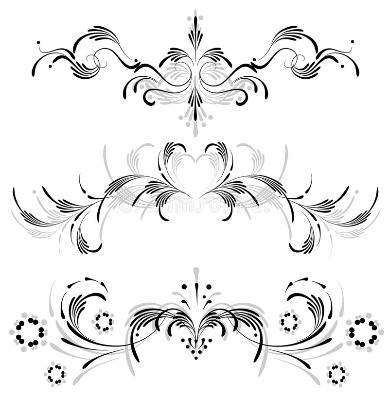 Symmetrical Ornament Royalty Free Stock Photography