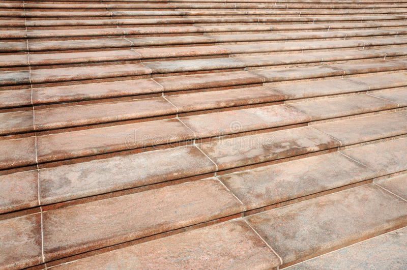 Download Symmetrical Pattern Of Red Steps Stock Photo - Image: 13143316