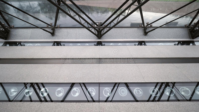 Symmetrical structure. Nice architectural Details royalty free stock photos