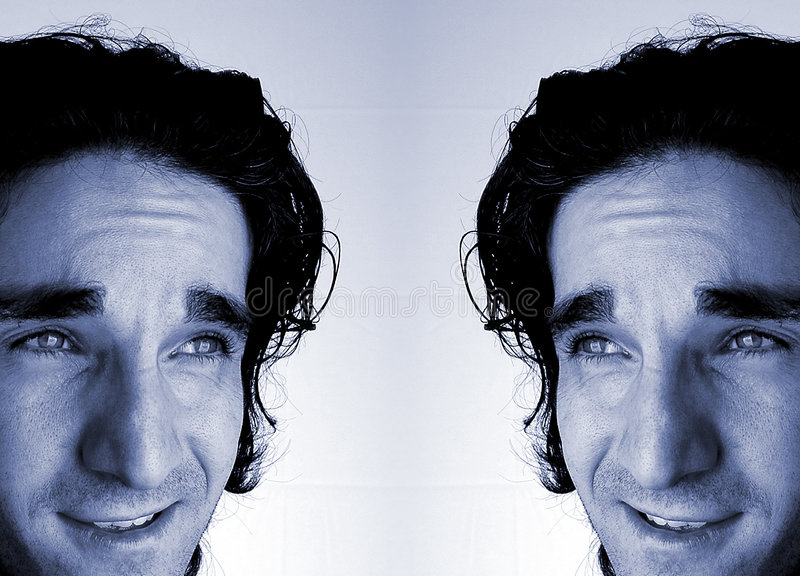 Symmetrie stock fotografie