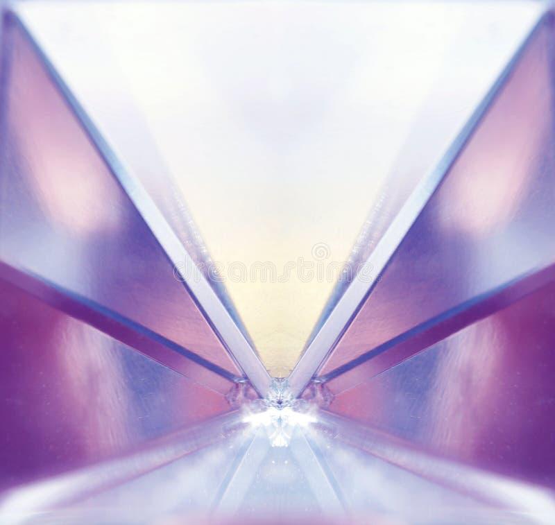 Symmetrie von Farben stockfoto