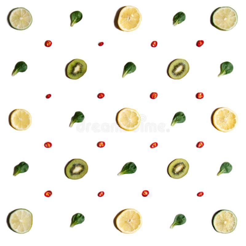 Symmetrisch geschikte vruchten stock foto
