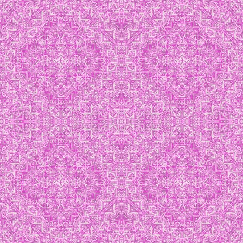 Symmetrische Auslegung - nahtloses Muster. lizenzfreie abbildung