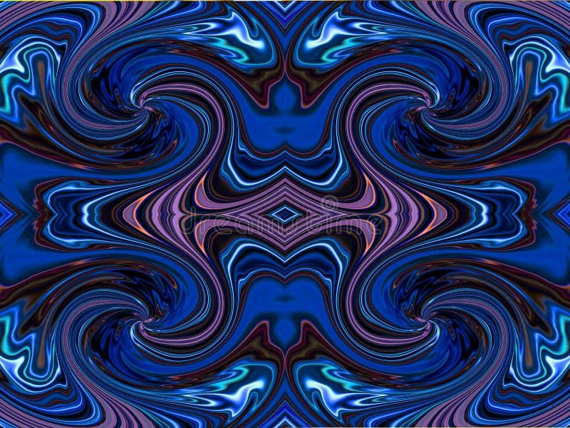 Symmetrischer Hintergrund Lizenzfreies Stockfoto