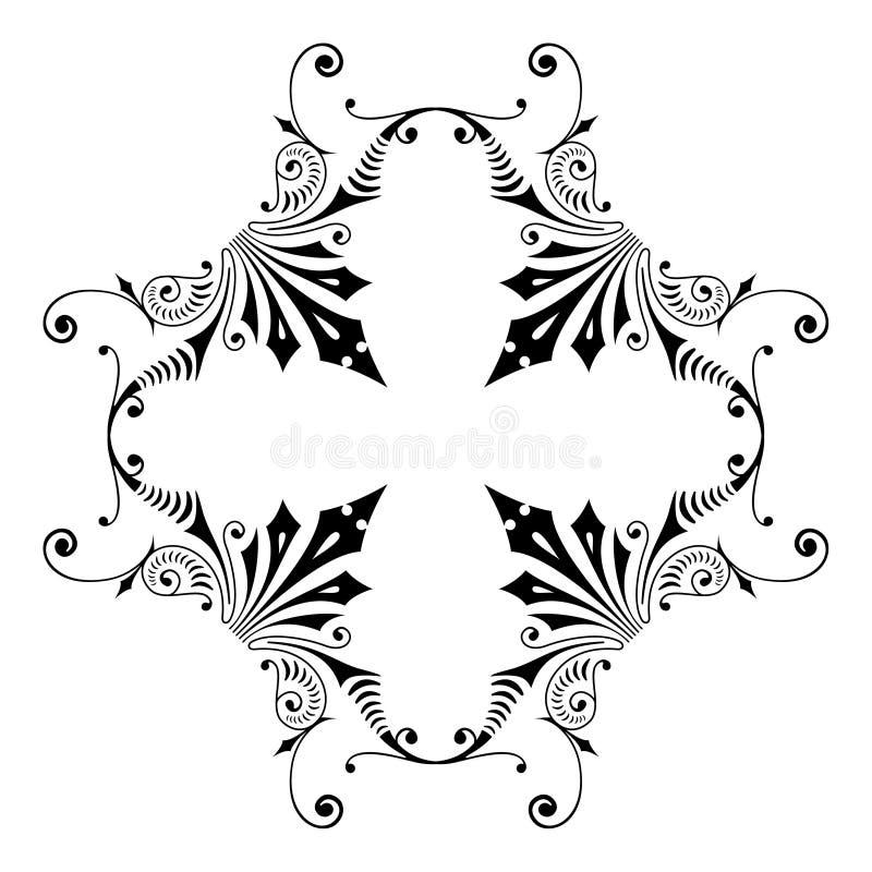 symmetrisk design vektor illustrationer