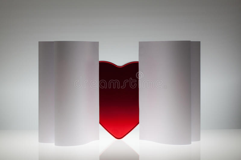 Download Symmetry Abstract Paper Background With Heart Stock Photo - Image of love, creative: 37089578