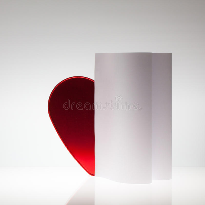 Download Symmetry Abstract Paper Background With Heart Stock Photo - Image: 37258578