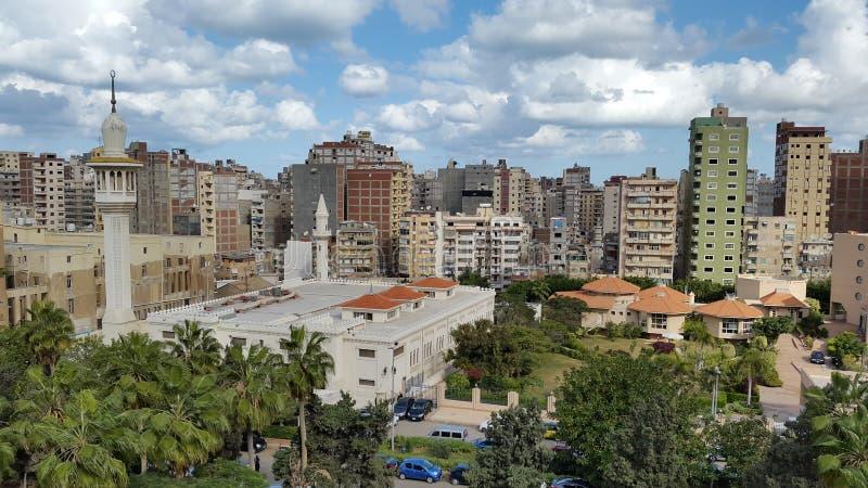 Sympathiemoschee in Alexandria, Ägypten stockbild