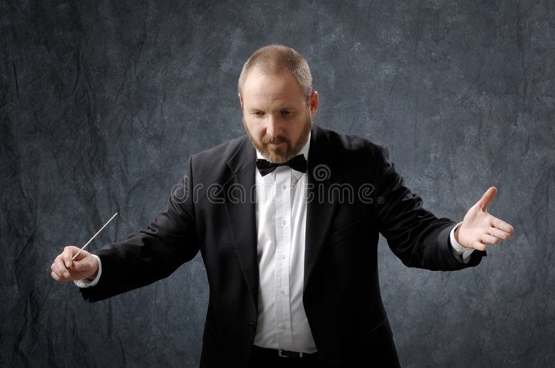 Download Symphony Conductor stock image. Image of band, director - 4347993