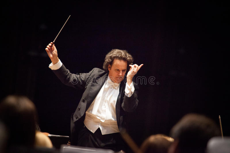 Download Conductor Hobart Earl editorial image. Image of double - 30048860