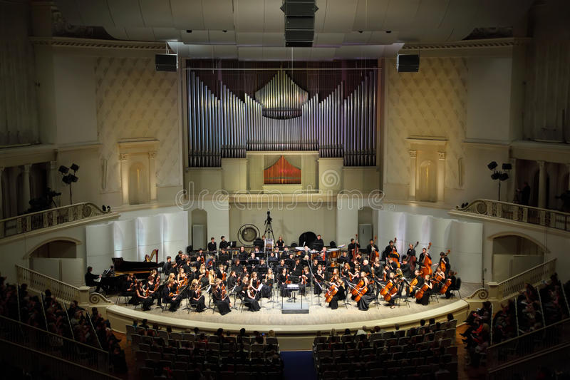 Download Symphony Orchestra Of Moscow State Conservatory Editorial Stock Image - Image: 22735549