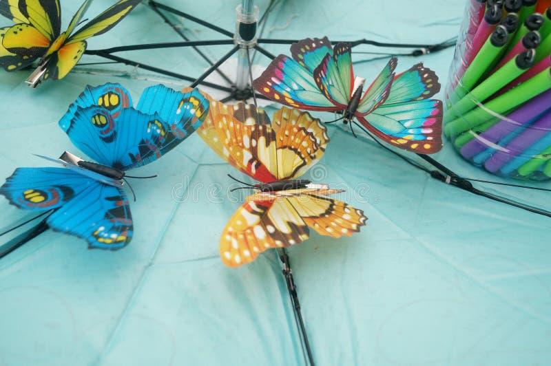 Symulacja motyl fotografia stock