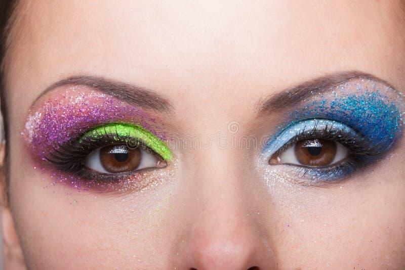 Syna Makeup royaltyfri fotografi
