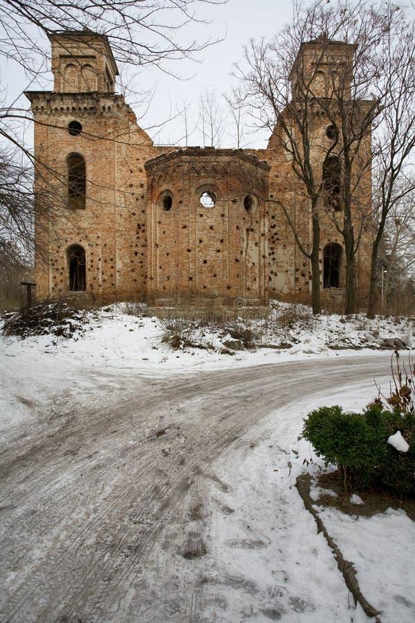 synagoga royaltyfria foton