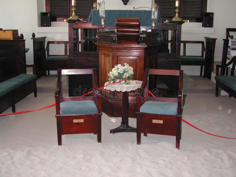 Synagoga Hebrajska kongregacja St Thomas zdjęcia royalty free