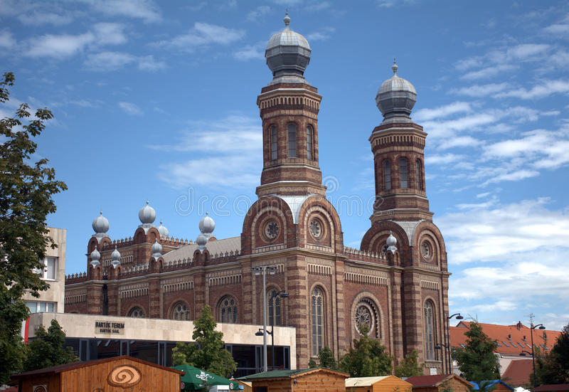 Synagoga, Szombathely, Węgry fotografia stock