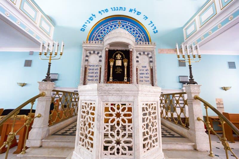 Synagoga w Ryskim zdjęcia royalty free
