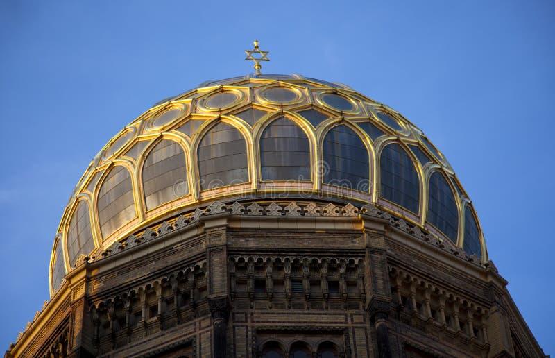 Synagoge stock foto