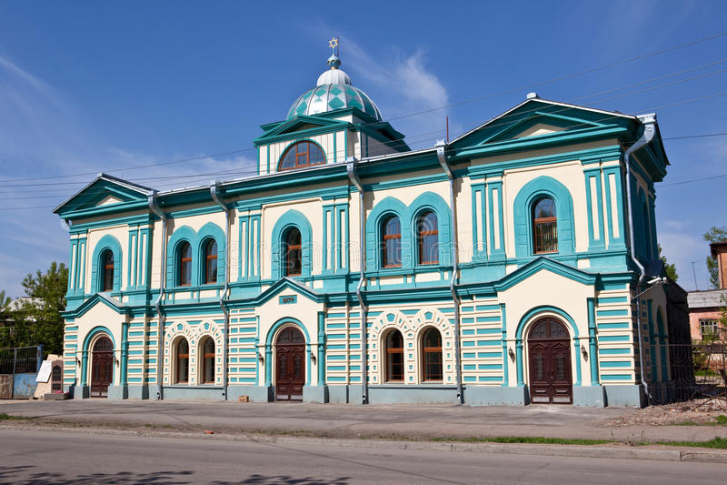 Synagoge lizenzfreie stockfotos