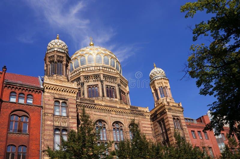 Synagoge Berlijn royalty-vrije stock foto's