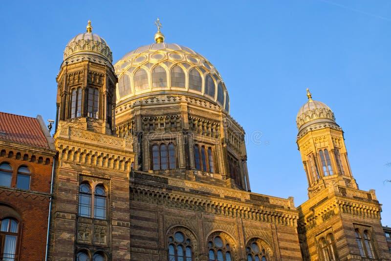 Synagoge in Berlijn royalty-vrije stock foto