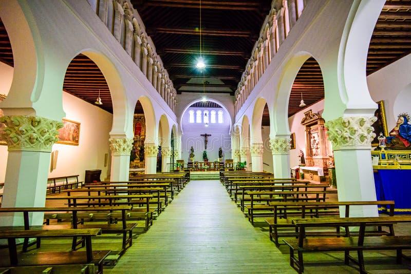 Synagoge di Segovia Spagna fotografia stock