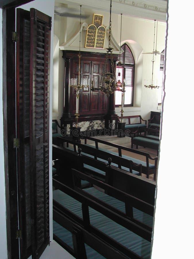 Synagoge Hebreeuwse Congregatie van St Thomas royalty-vrije stock foto's