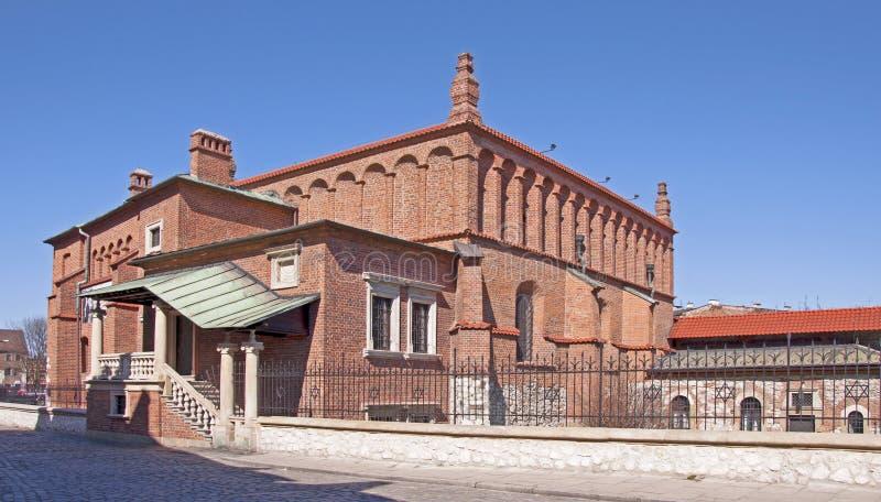 Synagoge in Krakau lizenzfreie stockfotografie