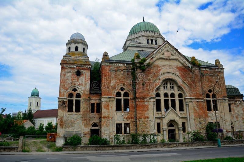 Synagoge, Lucenec, Slowakei lizenzfreie stockbilder