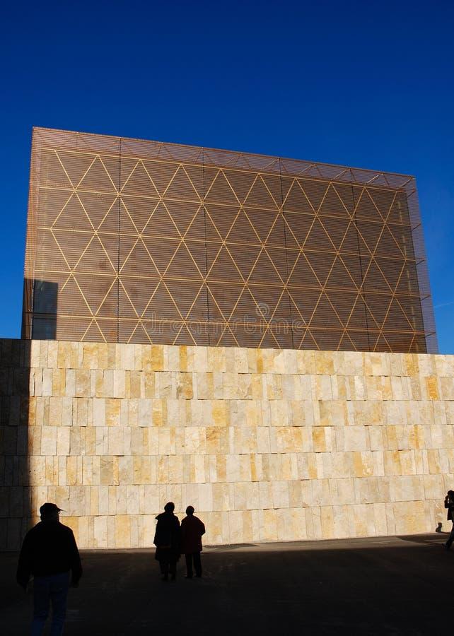 Synagoge in München stockfotos